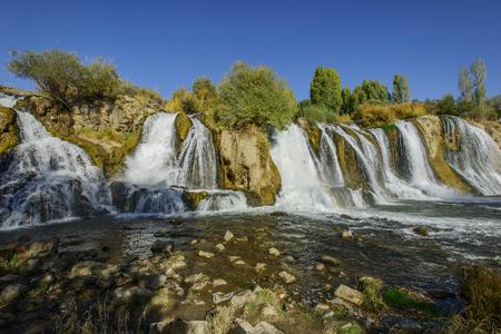 Muradiye waterfall (Turkey) photo