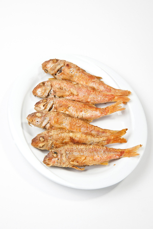 mullet: red mullet Stock Photo
