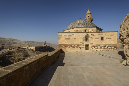 Ishak Pasha Palace (Constructed in 1685) is a semi-ruined palace located in the Dogubeyazit district of Agri province of Turkey.
