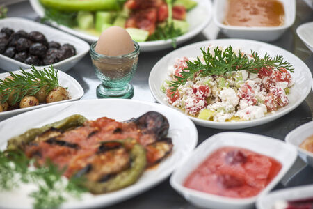 Turkish breakfast photo