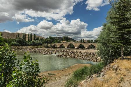 Sahruh bridge, Kayseri, Turkey Stok Fotoğraf