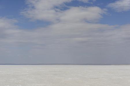 golu: Salt Lake, Turkey Stock Photo