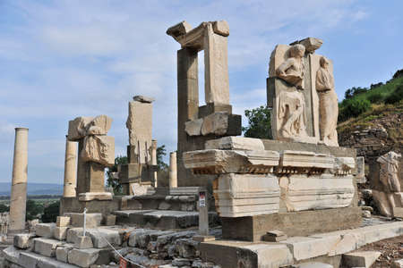 past civilization: Ephesus Stock Photo