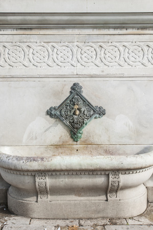 ottoman empire: german fountain in istanbul: a present from kaiser wilhelm 2 to ottoman empire and istanbul