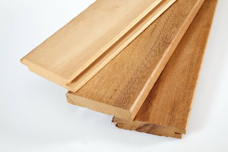 teak: teak deck Stock Photo