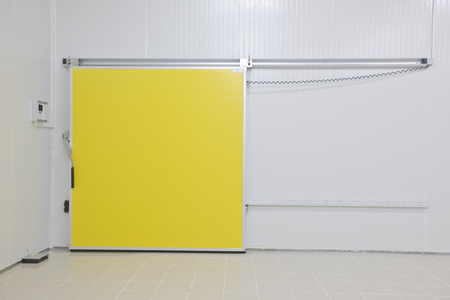 cold storage: cold storage Stock Photo