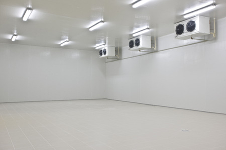 cold storage Standard-Bild