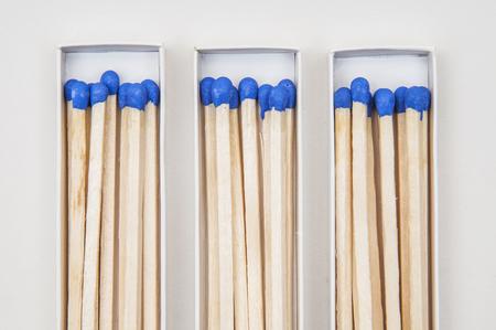matches: un mont�n de partidos azules con punta