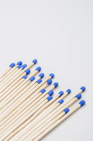 cerillos: un mont�n de partidos azules con punta