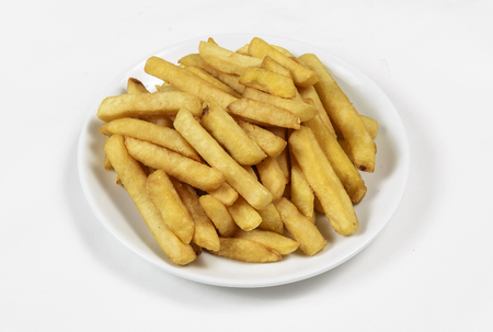 binge: French Fries in a basket.
