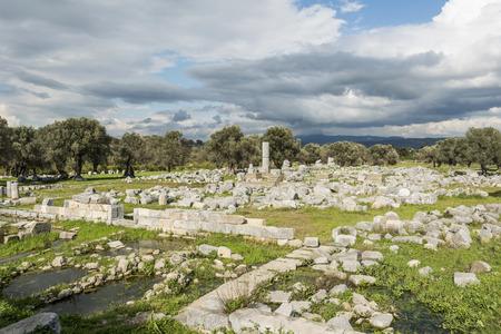 historische: Historische Site In Teos, Turkey