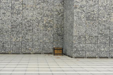 gabion: Big Gabion Wall
