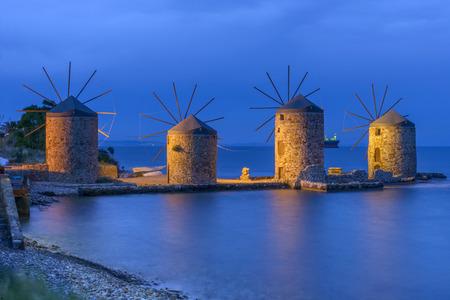 Chios, greece Stok Fotoğraf