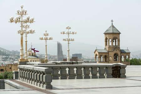 tbilisi: Sameba, Holy Trinity Church in Tbilisi