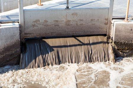 aguas residuales: planta de tratamiento de aguas residuales