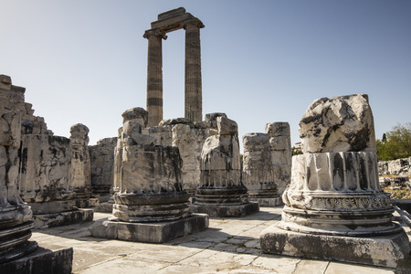 Temple of Apollo in antique city of Didyma