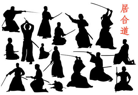 swordsman: vector collection for iaido