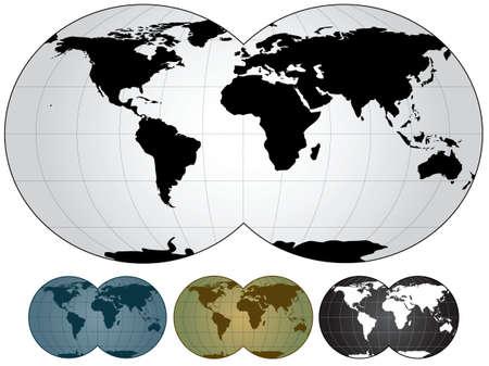 world map Stock Photo - 6152810