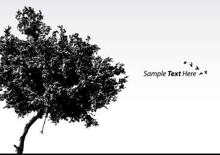 árbol de vector  Ilustración de vector