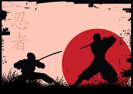 delito: Ninja Vectores