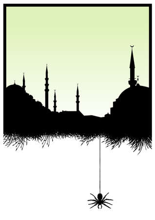 old mosque Stock Vector - 6162673