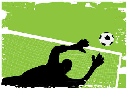 goal keeper: goal keeper Illustration