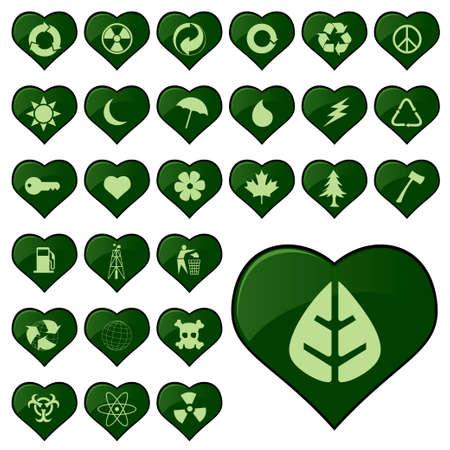 environmental icons Stock Vector - 6170048