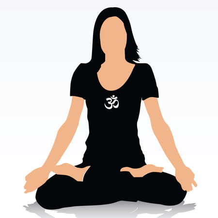 yoga Stock Vector - 6170081
