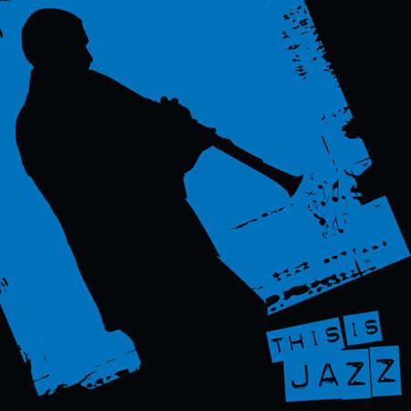 これはジャズ  イラスト・ベクター素材