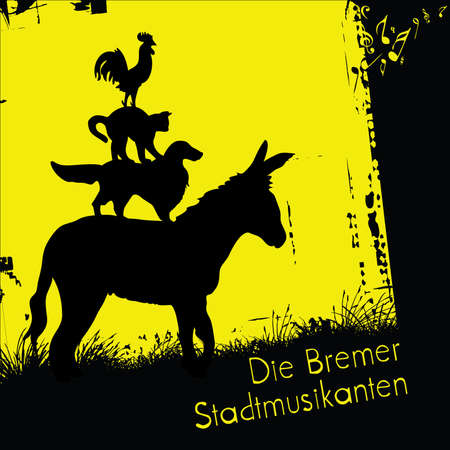 popular tale: bremen town musicians