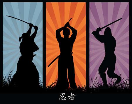 samurai sword: ninjas