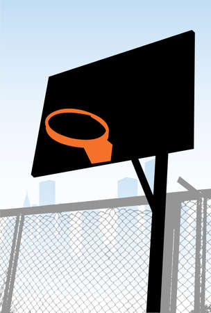 street basketball Stock Vector - 6170223