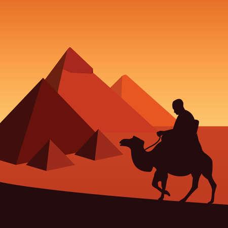 egypt  イラスト・ベクター素材