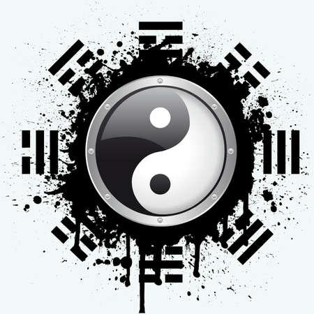 yin yang Stock Vector - 6180170