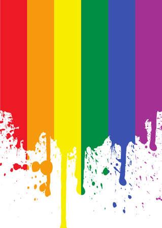 homosexuales: bandera arco iris