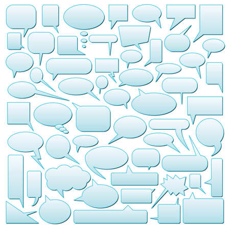 vector dialog bubbles Illustration
