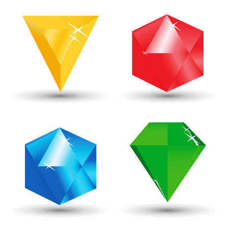 vector diamonds Vector