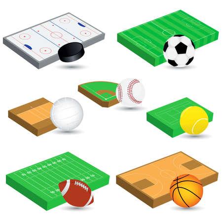 ベクトル スポーツ アイコン  イラスト・ベクター素材