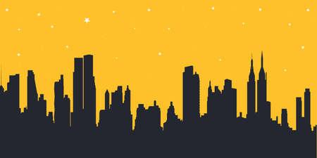 ベクター都市の景観