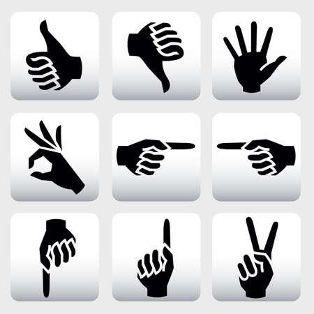 vieze handen: handen