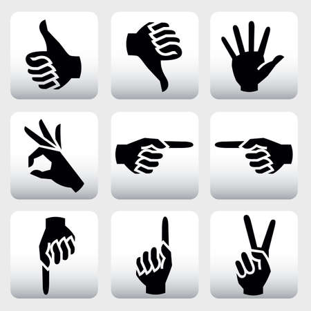 hands Vectores