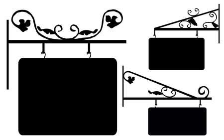 ベクトルの看板  イラスト・ベクター素材