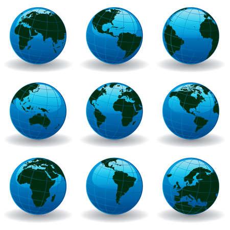 planet earth Stock Vector - 6183179
