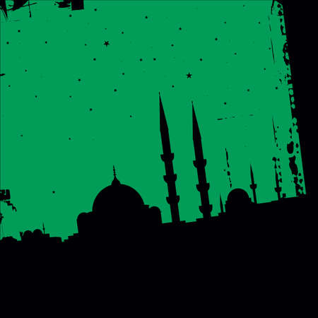 vector mosque Vector