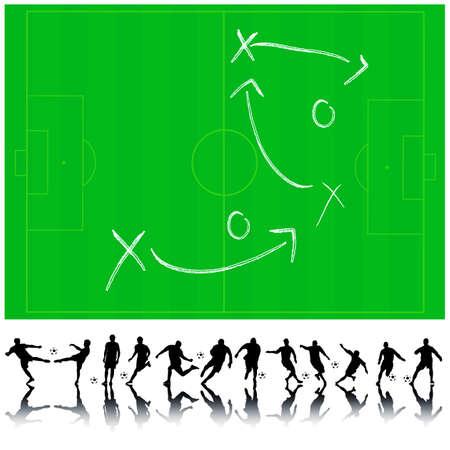 ベクトル サッカー コレクション