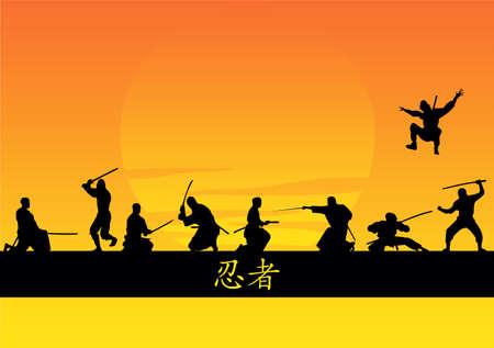 individual sports: ninjas