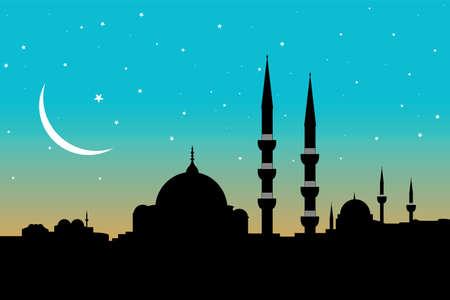 mosque Illustration