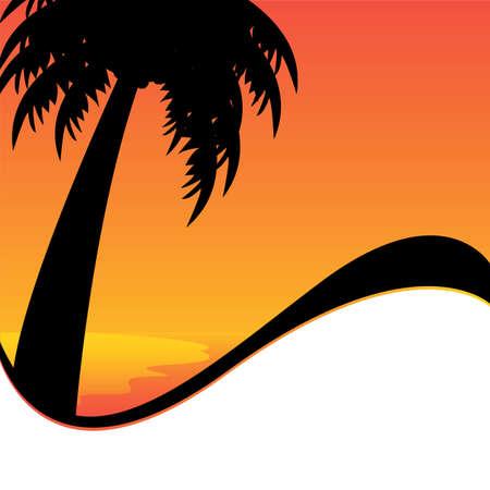 vector palm tree