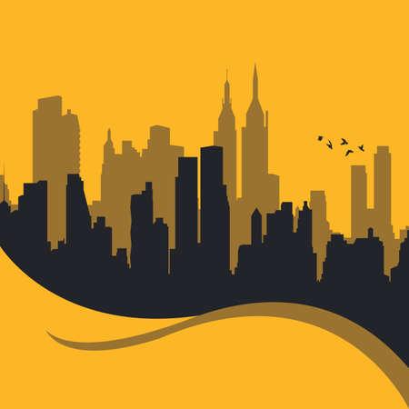 都市デザイン  イラスト・ベクター素材