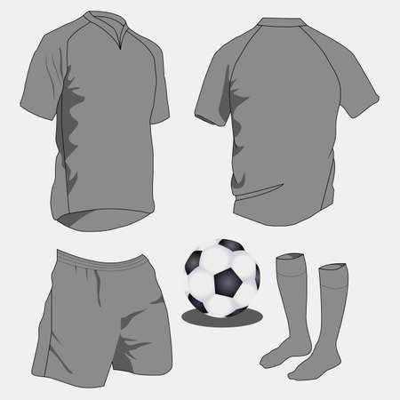 sport uniforms Stock Vector - 6197989